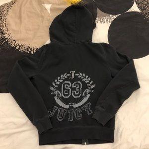 Juicy Couture Black Zip-Up Hoodie